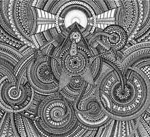 Tiny Geometries by peterdraws