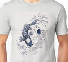 Ying Yang Koi Fish Unisex T-Shirt