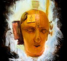 Dada Mechanical Head Painted by desarte