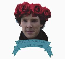 Sherlock is Actually a Girl's Name by Jessie Froggatt