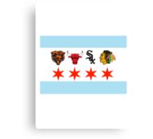 Chicago Sports Canvas Print