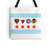 Chicago Sports 2 Tote Bag
