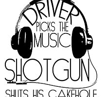 Driver Picks the Music.... Supernatural by geekchicprints