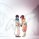 Free! - Angel by scarlet-neko