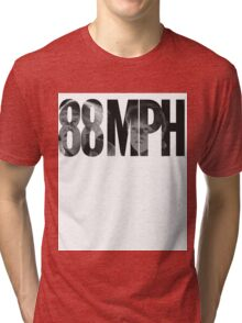 88 MPH Back To The Future Tri-blend T-Shirt