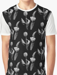 Artsy Tulips Graphic T-Shirt
