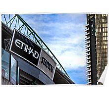 Etihad Stadium Melbourne Poster