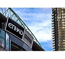 Etihad Stadium Melbourne Photographic Print