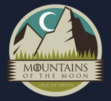 Game Of Thrones - 'Mountains Of The Moon' vintage badge by housegrafton