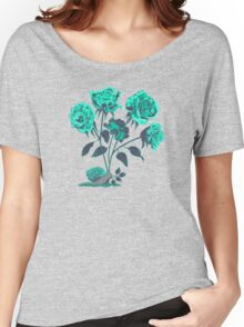 Snails N' Roses Women's Relaxed Fit T-Shirt