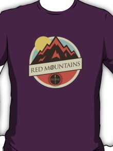 Game Of Thrones - 'Red Mountains' vintage badge T-Shirt