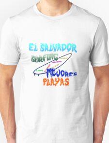 El Salvador surfing mejores playas Unisex T-Shirt