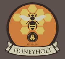 Game Of Thrones - 'Honeyholt' vintage badge by housegrafton