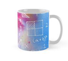 Math formulae (watercolor background) Mug