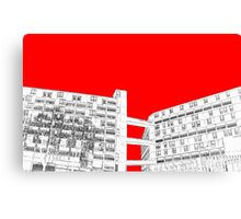 Park Hill Red Canvas Print