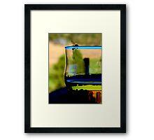 Drunk Wasp Framed Print