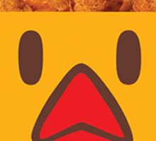 Chicken Fries Sticker