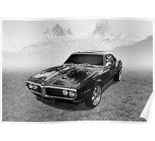 Pontiac Firebird Poster