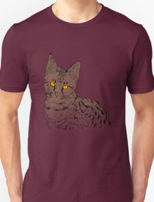 The Cat with the Glowing Eyes T-Shirt
