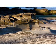 Sculpted By Wind And Water - Beachcomber Series Photographic Print