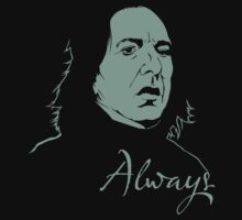 Snape (Always) by moseisly