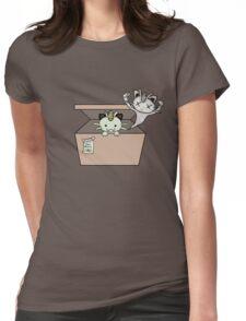 SCHRÖDINGER'S CAT IS...MEOWTH Womens Fitted T-Shirt