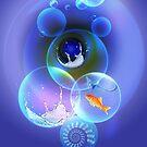 blue bubbles by sarandis