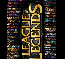League of Legends by d0ggy
