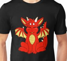 Cute Chibi Red Dragon Unisex T-Shirt