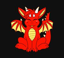Cute Chibi Red Dragon Unisex T-Shirt