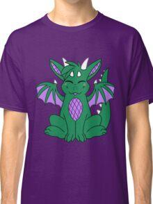 Cute Chibi Green Dragon Classic T-Shirt