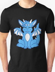 Cute Chibi Blue Dragon T-Shirt