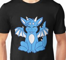Cute Chibi Blue Dragon Unisex T-Shirt