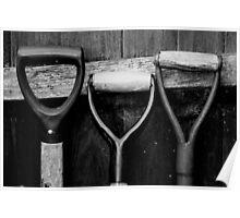 The Shovel, Spade & Fork Poster