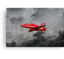 Red Arrows Hawk Canvas Print
