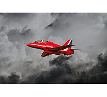 Red Arrows Hawk Photographic Print
