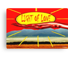 LIGHT OF LOVE Canvas Print