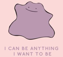 Ditto - I can be anything I want to be One Piece - Short Sleeve