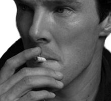 Benedict Smoking Sticker