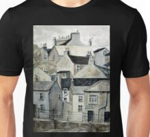The Sea Front, Staithes Unisex T-Shirt