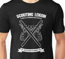 Titan Extermination Service - White Unisex T-Shirt