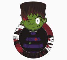 Mini Cartoon Frankenstein Baby Tee