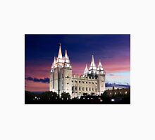 Salt Lake Temple Summer Sunset 20x30 Classic T-Shirt