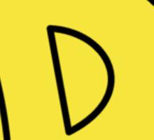 Dandy Star Sticker