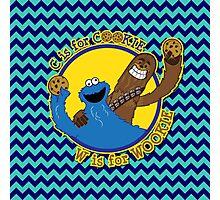 Cookie & Wookie Photographic Print