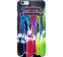 Express yourself) iPhone Case/Skin
