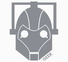 Geek Shirt #1 Cyberman Grey by RocketmanTees