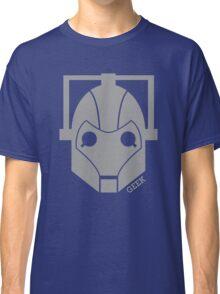 Geek Shirt #1 Cyberman Grey Classic T-Shirt