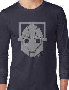 Geek Shirt #1 Cyberman Grey Long Sleeve T-Shirt
