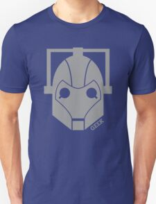 Geek Shirt #1 Cyberman Grey T-Shirt